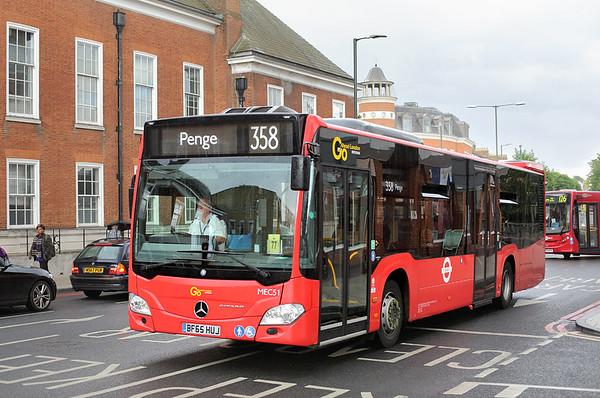 MEC51 BF65HUJ, Bromley 25/6/2016
