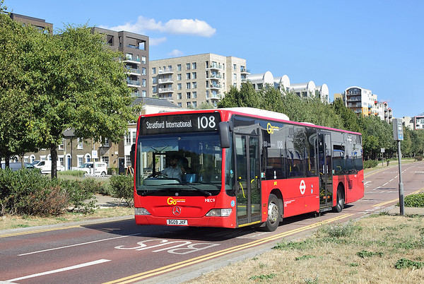 MEC9 BG09JKF, North Greenwich 8/8/2018