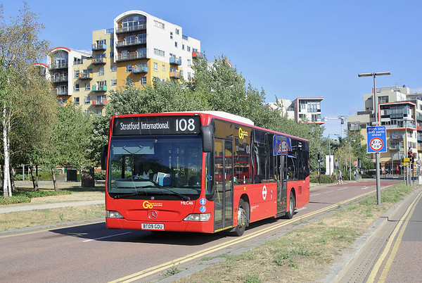 MEC46 BT09GOU, North Greenwich 8/8/2018