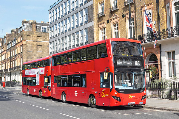MHV11 BU16OYV, Russell Square 21/5/2020