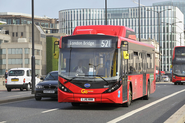 SEe7 LJ16NNM, London Bridge 7/9/2017
