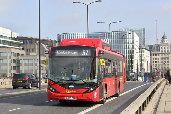 SEe14 LJ66CFN, London Bridge 7/9/2017