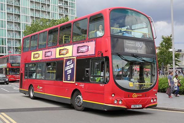 VWL11 LB02YXJ, Woolwich 25/6/2016