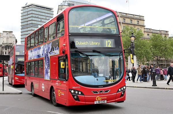 WHV15 LJ61GXO, Trafalgar Square 2/5/2014