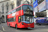 WHV112 BV66VHN, Piccadilly Circus 3/1/2017