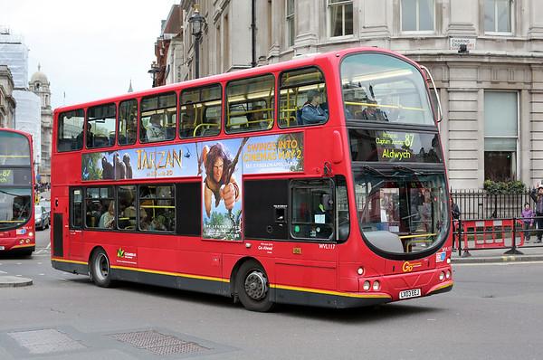 WVL117 LX03EEJ, Trafalgar Square 2/5/2014