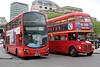 WVL435 LJ61GWU and RM1204 204CLT, Trafalgar Square 2/5/2014