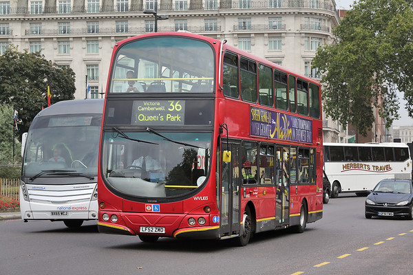 WVL103 LF52ZMO, Marble Arch 18/8/2016