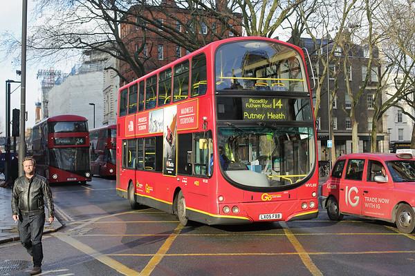WVL188 LX05FBB, Bloomsbury 13/12/2016
