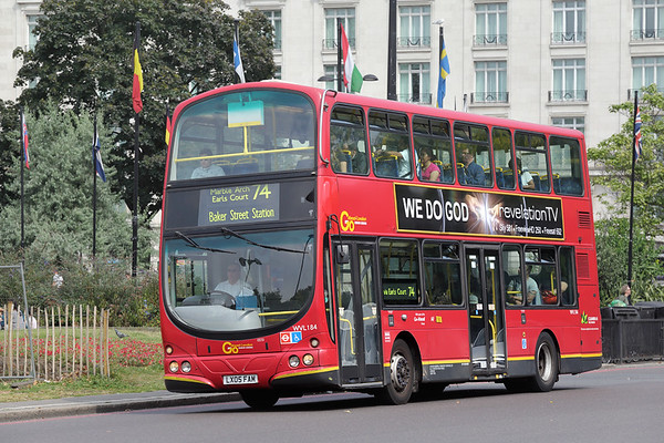 WVL184 LX05FAM, Marble Arch 18/8/2016