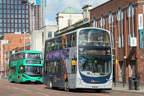 3001 BN61MWE, Manchester 16/3/2020