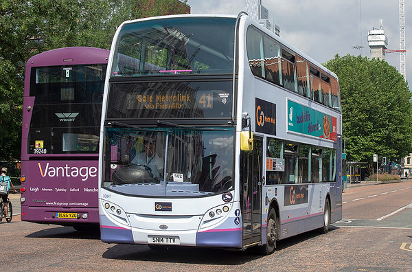 3104 SN14TTV, Manchester 24/7/2019