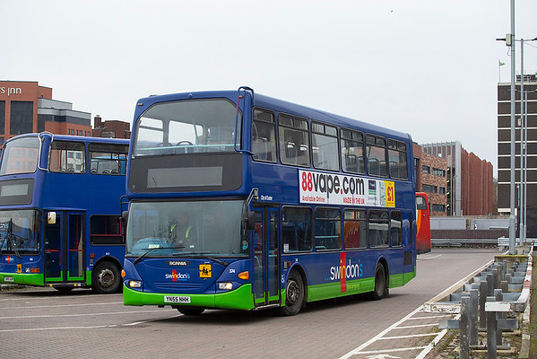 374 YN55NHH, Swindon 31/1/2020