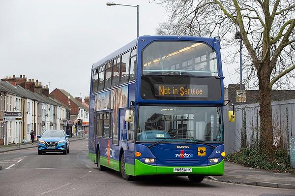 376 YN55NHK, Swindon 31/1/2020