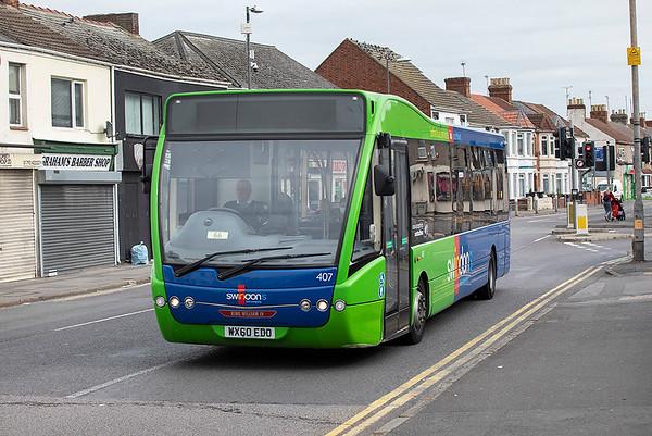 407 WX60EDO, Swindon 28/9/2020