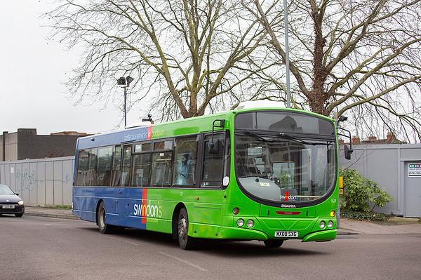 521 WX08SXG, Swindon 31/1/2020