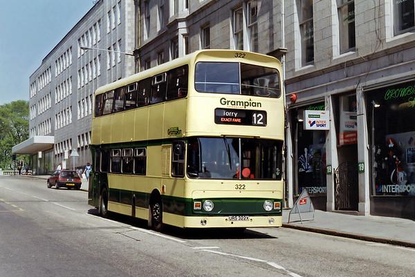 322 URS322X, Aberdeen 23/5/1993