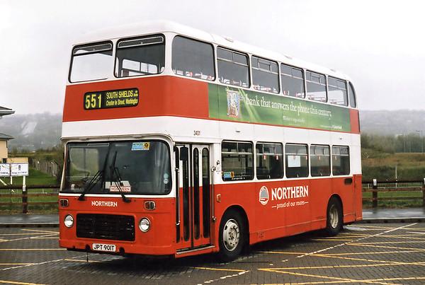 3401 JPT901T, Gateshead Metro Centre 12/5/1996