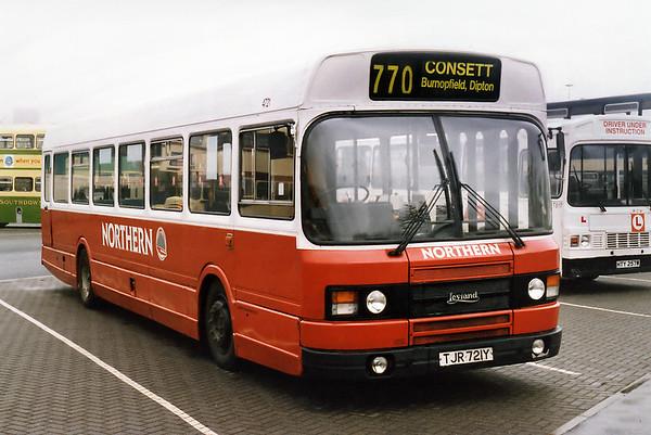 4721 TJR721Y, Gateshead Metro Centre 12/5/1996