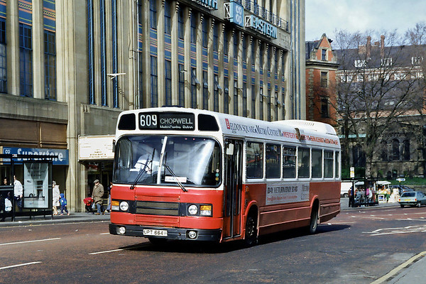 4664 UPT664V, Newcastle 21/3/1992