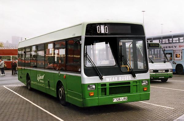 4726 F726LRG, Gateshead Metro Centre 12/5/1996