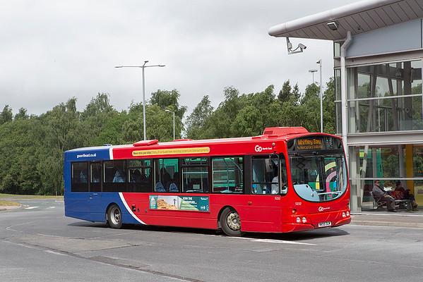 5232 NK55OLM, Metro Centre 30/5/2019