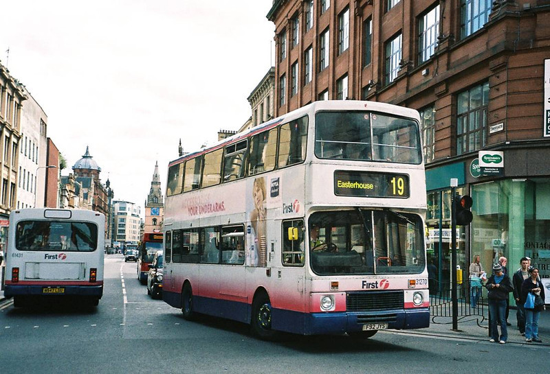 First 31270 (F92JYS), Glasgow, 13th May 2006