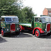 Preserved Albion lorries FT27A(SP)  Reg No DSY 25 and  FT23N  Reg No FVD 448