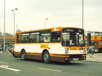Dennis Domino 1761 (C761YBA), Cateaton Street, 17th June 1986
