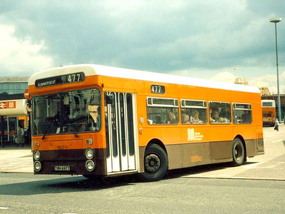 Another view of 1697 (TWH697T), Bury Interchange, 11th June 1986
