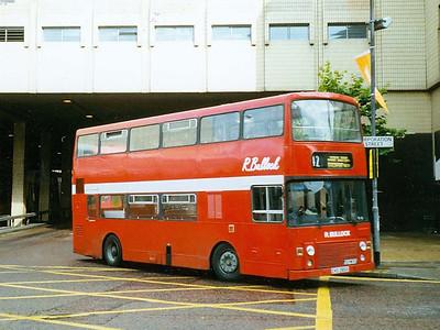 Bullock's Alexander bodied MCW Metrobus CKS385X turning onto Corporation Street, Manchester