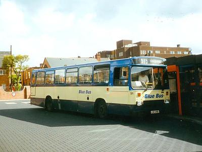 Blue Bus 51 (LDZ2951), Wigan Bus Station