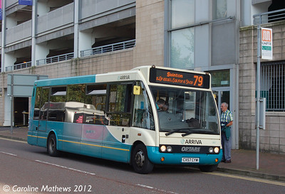Arriva North West 667 (CX57CYW), Salford Quays,  1st September 2012