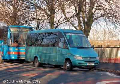 Clarksons Coaches FY52LFV, Bury,  1st December 2012