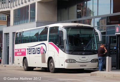 Terravision SA02RNF, Shude Hill, Manchester, 1st September 2012