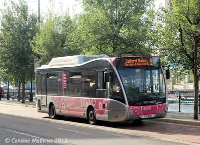 Maytree YJ11ENU, Salford Quays,  1st September 2012