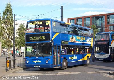 Stagecoach 17646 (W646RND), Manchester, 1st September 2012