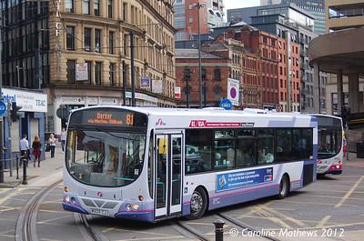 First 66864 (MX05CJJ), Manchester, 1st September 2012