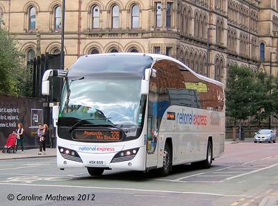 Parks HSK659, Manchester, 1st September 2012