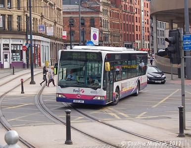 First 60223 (W301JND), Manchester, 1st September 2012