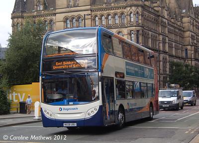Stagecoach 19327 (MX08UBU), Manchester, 1st September 2012