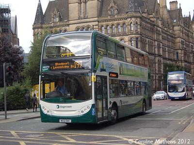 Stagecoach 12125 (MX12ENY), Manchester, 1st September 2012