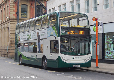 Stagecoach 12049 (MX60BVR), Manchester, 1st September 2012