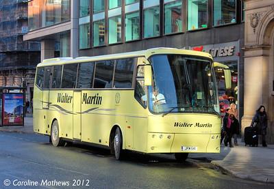 Walter Martin JFM541, Manchester, 1st December 2012