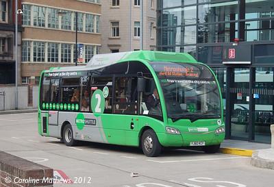 First 59004 (YJ60KCF), Manchester, 1st September 2012