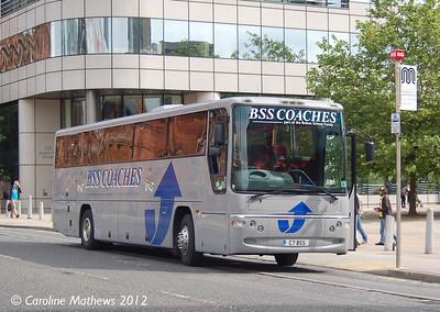 BSS Coaches C7BSS, Manchester, 1st September 2012