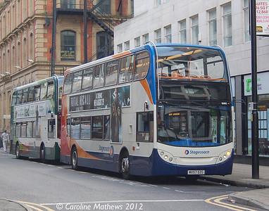 Stagecoach 19182 (MX57DZG), Manchester, 1st September 2012