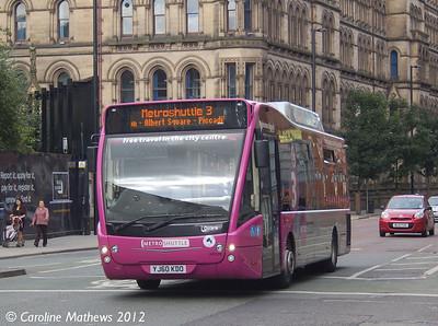 First 49109 (YJ60KDO), Manchester, 1st September 2012