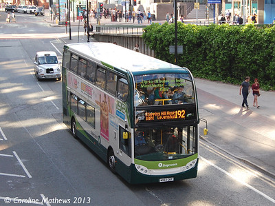 Stagecoach 12192 (MX62GXP), Manchester, 8th June 2013