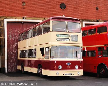 Bolton Transport 232 (FBN232C), Boyle Street, 7th December 2013